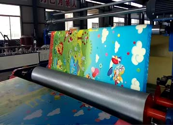 XPE laminating machine