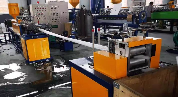 Fruit Packing Net Knotless Net Making Machine